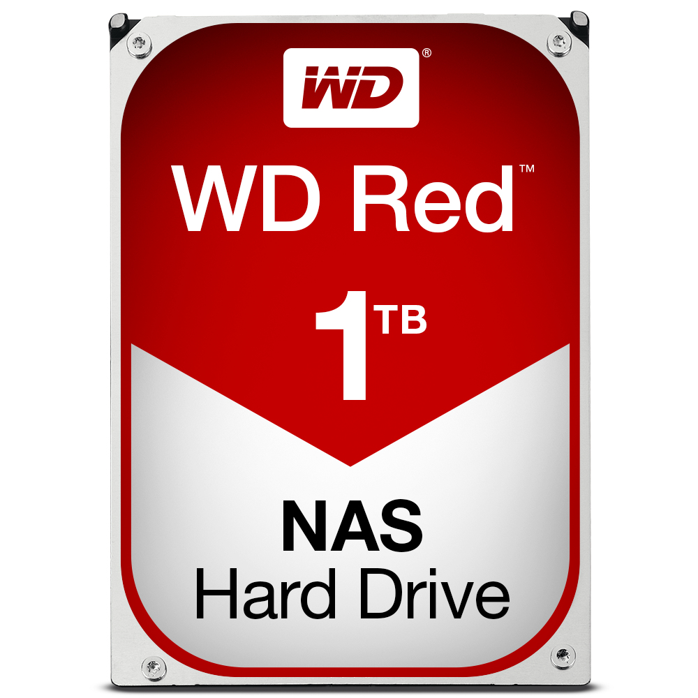 Western Digital Red 1000GB SATA III interne harde schijf