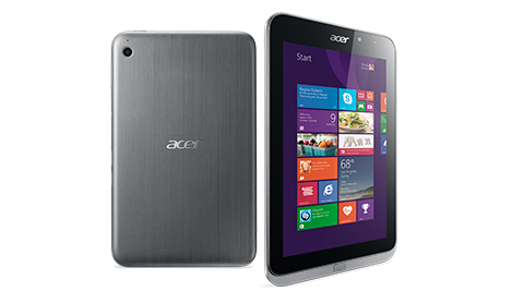 Acer Iconia W4-820P 64GB 3G Zilver tablet
