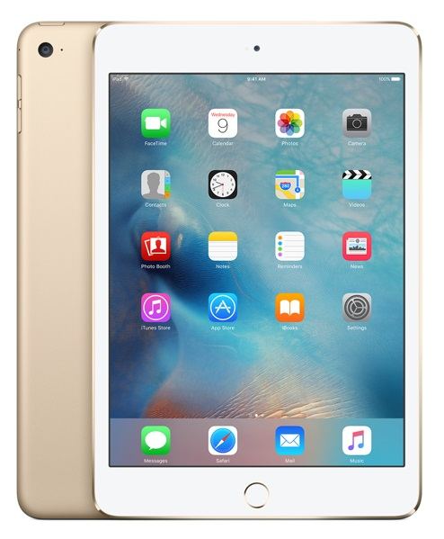 Apple iPad mini 4 128GB Goud tablet