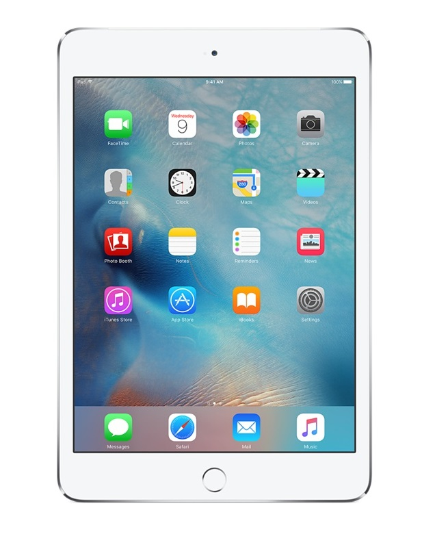 Apple iPad mini 4 128GB 3G 4G Zilver tablet
