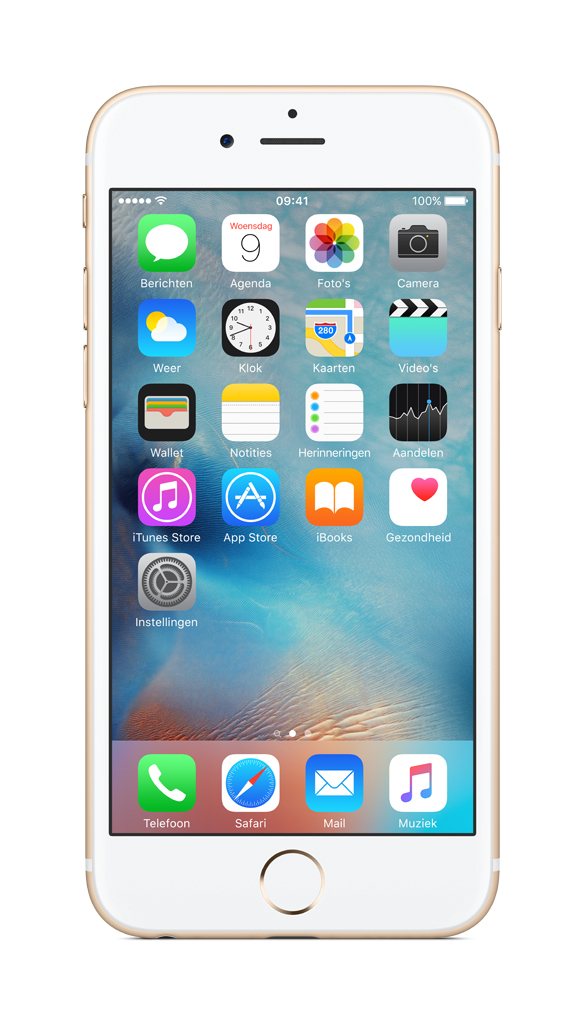Apple iPhone 6s Single SIM 4G 128GB Goud