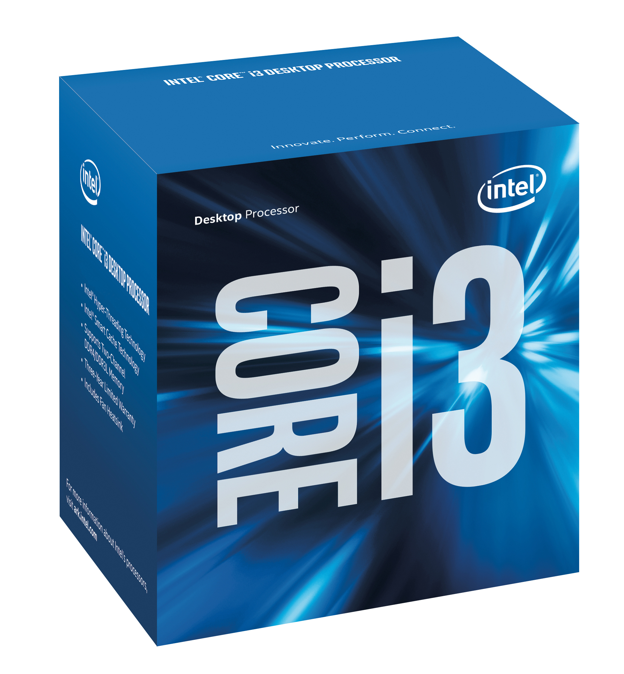 Intel Core ® ™ i3-7100 Processor (3M Cache, 3.90 GHz) 3.9GHz 3MB Smart Cache Box processor