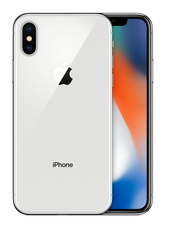 Apple iPhone X Single SIM 4G 256GB Zilver