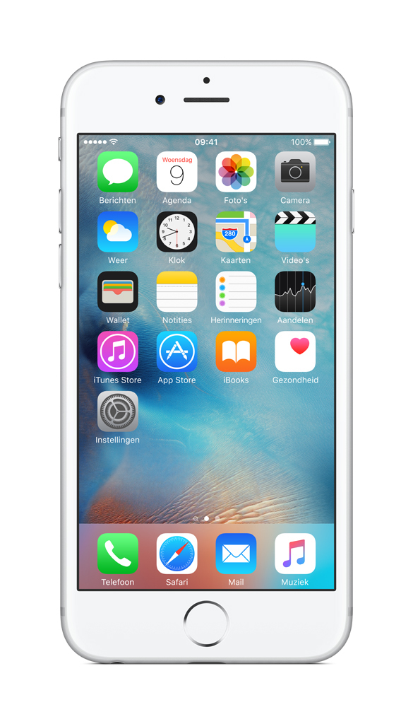 Apple iPhone 6s Single SIM 4G 128GB Zilver