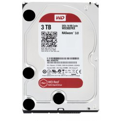 Western Digital Red 3000GB SATA III interne harde schijf