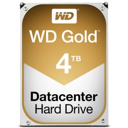 Western Digital Gold interne harde schijf HDD 4000 GB SATA III