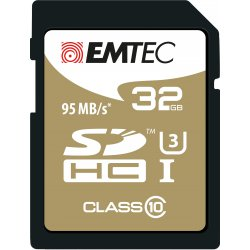 Emtec SDHC 32GB Class10 Speedin 32GB SDHC Klasse 10 flashgeheugen