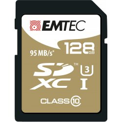 Emtec SDXC 128GB Class10 Speedin 128GB SDXC Klasse 10 flashgeheugen