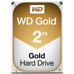 Western Digital Gold HDD 2000GB SATA III interne harde schijf