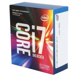 Intel Core ® ™ i7-7700K Processor (8M Cache, up to 4.50 GHz) 4.2GHz 8MB Smart Cache Box processor