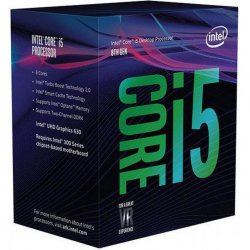 Intel Core ® ™ i5-8600K Processor (9M Cache, up to 4.30 GHz) 3.6GHz 9MB Smart Cache Box processor