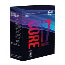 Intel Core ® ™ i7-8700K Processor (12M Cache, up to 4.70 GHz) 3.7GHz 12MB Smart Cache Box processor