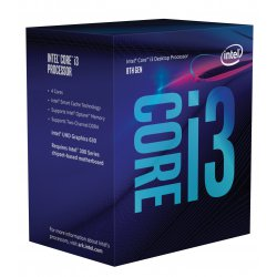 Intel Core ® ™ i3-8100 Processor (6M Cache, 3.60 GHz) 3.6GHz 6MB Smart Cache Box processor