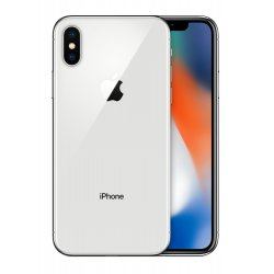 Apple iPhone X Single SIM 4G 64GB Zilver