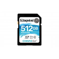 Kingston Technology Canvas Go! flashgeheugen 512 GB SDXC Klasse 10 UHS-I