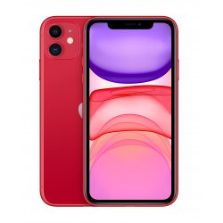 "Apple iPhone 11 15,5 cm (6.1"") 128 GB Dual SIM Rood"